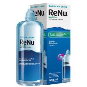 solutie lentile de contact renu