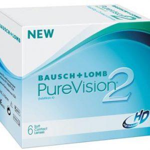 lentile de contact pachet 6 buc PureVision 2HD